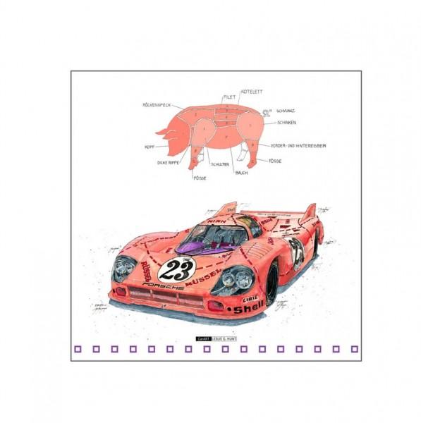 LESLIE G. HUNT - Porsche 917 PIG