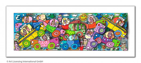 JAMES RIZZI - MY BUSY CITY TRAFFIC JAM