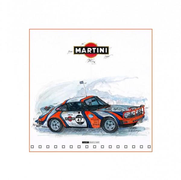 LESLIE G. HUNT - Porsche 911 Ice Race