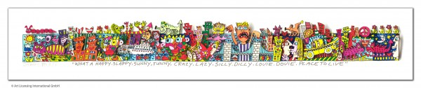 JAMES RIZZI - WHAT A HAPPY, SLAPPY, SUNNY, FUNNY, CRAZY, LAZY, SILLY, DILLY..