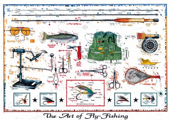 LESLIE G. HUNT - The Art of Fly Fishing
