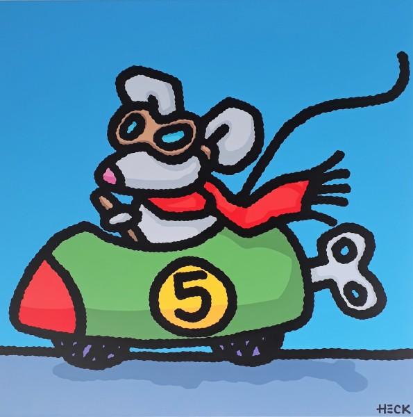 ED HECK - RAT RACE * aktuelle Lieferbarkeit anfragen