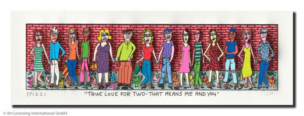 JAMES RIZZI - TRUE LOVE FOR TWO - THAT MEANS ME AND YOU