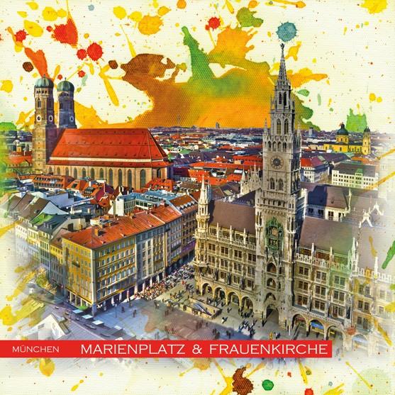 RAY - RAYcities - München - Marienplatz und Frauenkirche