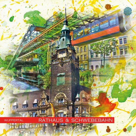 RAY - RAYcities - Wuppertal - Rathaus und Schwebebahn